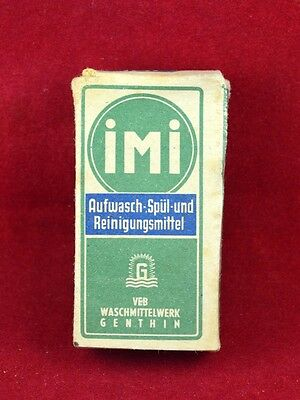 Wehrmacht Wwii German Small Box For Detergen Ration Imi Rare War Relic