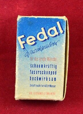 Wehrmacht Wwii German Small Box For Detergen Ration Fedal Rare War Relic