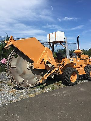 2006 Case 860 Turbo Rock Saw Trencher