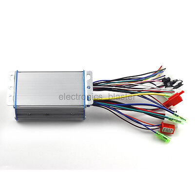 Dual Mode DC Brushless Controller 36V 48V 350W for Electric Bike
