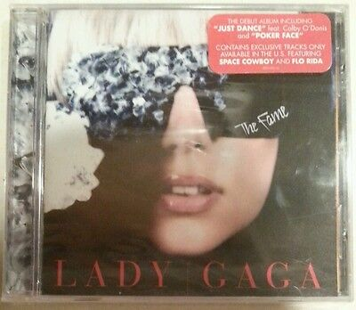 "THE FAME [Bonus Track] by LADY GAGA (CD, 2008-Interscope-USA) BRAND NEW ""SEALED"""