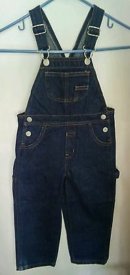 NWT Faded Glory Kids Overalls Size 4t Blue Jeans Classic Fit Size 4t  Denim New