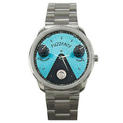 Effects Pedals Style Sport Metal Watch
