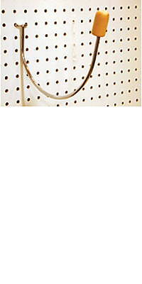 Wig & Extension Supplies Hair Extensions & Wigs Beauty Store Head Holder Wig Display Hook Hat Retail Fixture Wall Mount Pegboard With The Best Service