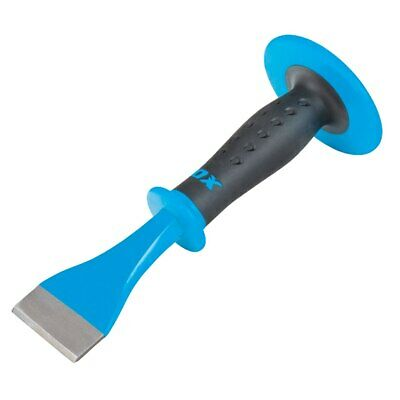 NEW OX Floor Chisel/Bolster With Soft Grip and Wrist Guard (75mm)