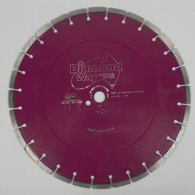 NEW Super Premium Maroon Concrete Blade For Cutting Medium To Hard Reinforced...