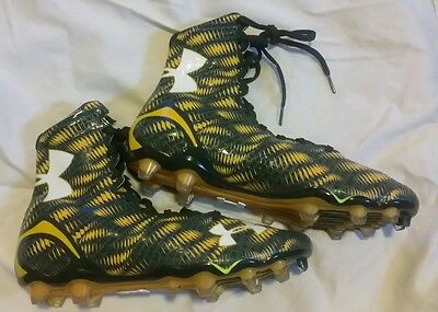 NEW $130 UNDER ARMOUR UA HIGHLIGHT MC football LACROSSE cleats Size 10