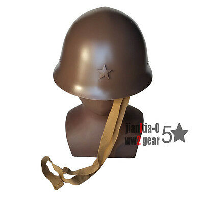WW2 WWII Repro TYPE 98 JAPANESE STEEL HELMET ARMY SIZE BIG WITH INSIGNIA STAR
