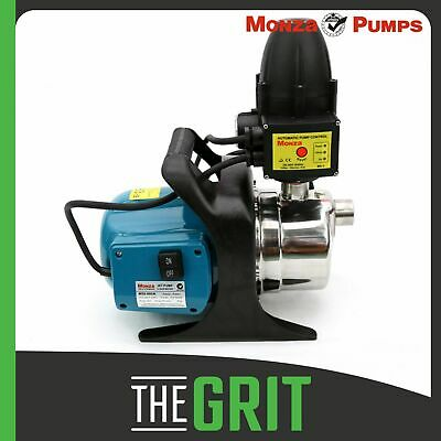 Monza 800w 1Hp Auto Controller Water Pump Pressure Household Garden Stainless