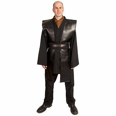 Star Wars Jedi Knight Custom Cosplay Anakin Skywalker Sith Halloween Costume men