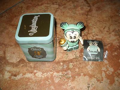 """Disney Store Vinylmation Minnie Mouse  3"""" Statue Of Liberty Minnie Cute"""