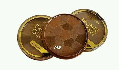 Collection 2000 Mosaic Glow Shimmering Bronzing Powder 1 Sunkissed 15g