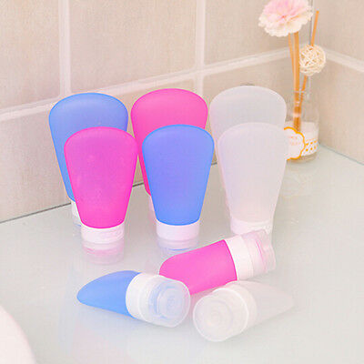Silicone Travel Bottles Shampoo Shower Gel Lotion Sub-bottling Tube Squeeze