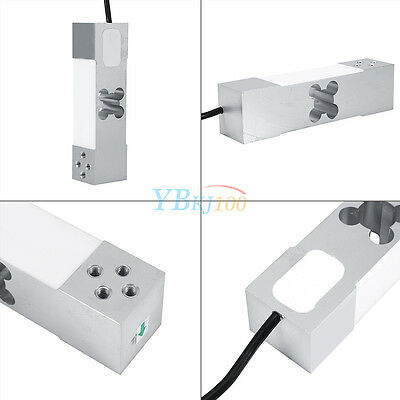 Weighing Sensor 100kg Electronic Platform Scale Aluminium Alloy Load Cell Weight