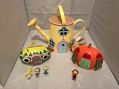 Fifi and The Flower Tots Forget Me Not Watering Can House Toy Plus Extras