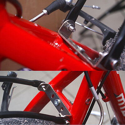 New Bicycle Rear Pannier Racks Connector Carrier Seatpost Mount Adapter Useful