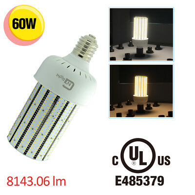 320W High pressure sodium replacement LED light bulbs 60W parking lot fixture