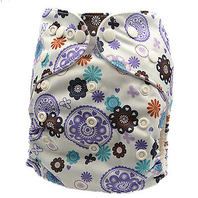 New Adjustable Reusable Waterproof Modern Cloth Nappy Nappies Baby Diaper
