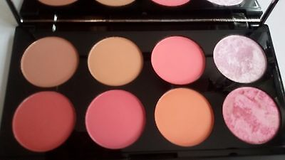 Revolution Makeup 8 Blush and Contour Powder Palette - SUGAR AND SPICE