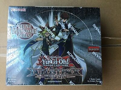 Yugioh Duelist Pack Battle City Sealed Booster Box