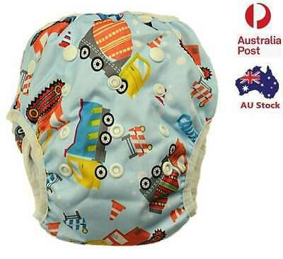 Washable Reusable Swim Nappy Baby Toddlers Cover Diaper Pants Swim Nappies