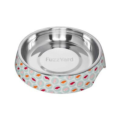 "Fuzzyard ""Sushi Delight"" Wide & Shallow Cat Bowl - Eliminate Whisker Stress"