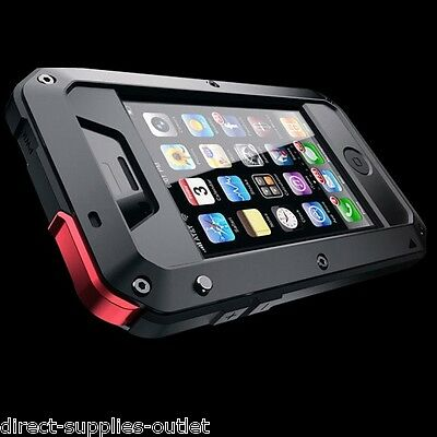 Waterproof Shockproof Aluminum Gorilla Metal Cover Case For Apple iPhone 5/5s/SE