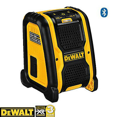 DeWalt DCR006 XR Bluetooth Speaker 10.8-18v - Bare Unit