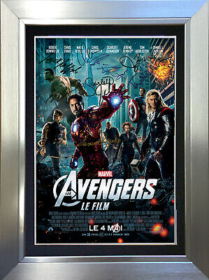 MARVEL THE AVENGERS ASSEMBLE 8 Cast Signed Autograph Mounted Photo Repro A4 297