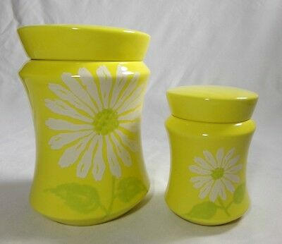 Ernestine Salerno Vintage Antique Italian Kitchen Porcelain Canisters Containers