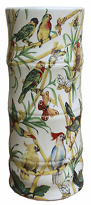 Bamboo Parrots And Butterflies Design Ceramic Umbrella / Stick Stand CHA802