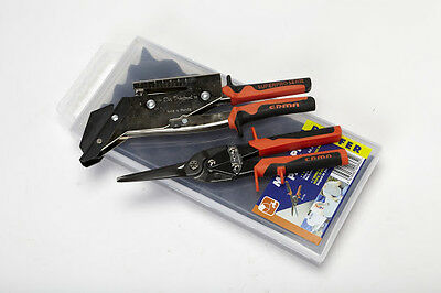Edma 0365 Maxi-Pro Roofer Pack Slate Cutter With Punch and Tin Snips