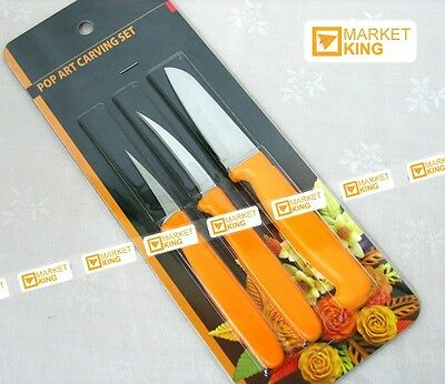 Royal Thai Tool Set, Fruit & Vegetable Decorative Pro Art Superior New Penguin