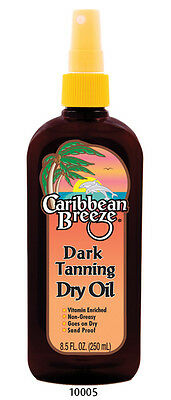 Caribbean Breeze Dark Tanning Oil 250ml