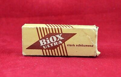 Wehrmacht Wwii German Small Box For Toothpaste Ration Biox Ultra Rare War Relic