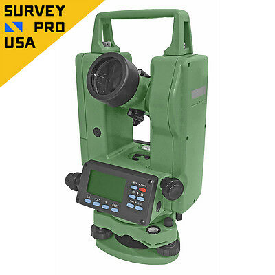 New - Digital Theodolite 5 Seconds Accuracy With Dual Keyboard IP55 Rating