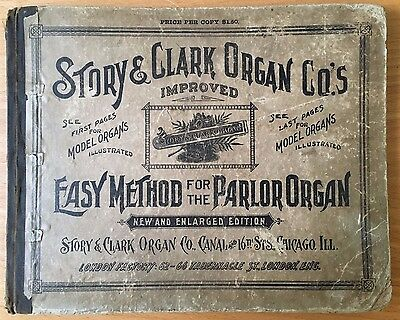 1886 BASEBALL QUICKSTEP Story & Clark Organ Co TEMPERANCE Custer's Funeral March