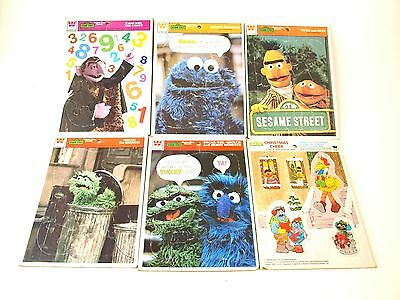 Lot Of 10 Vintage 70s Whitman Tray Puzzles Sesame Street Ripleys Christmas Santa