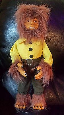 Telco 1992 Official Universal Studio Monsters The Wolfman