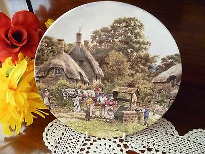 Royal Doulton THE VILLAGE WELL  PLATE
