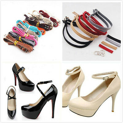 pu Leather Shoe Straps Laces Band for Holding Loose High Heeled Shoes Hot