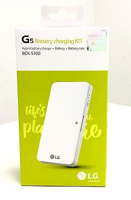 LG G5 Battery Charging Kit BCK-5100 BL-42D1F with Case Hybrid Charger BC5100