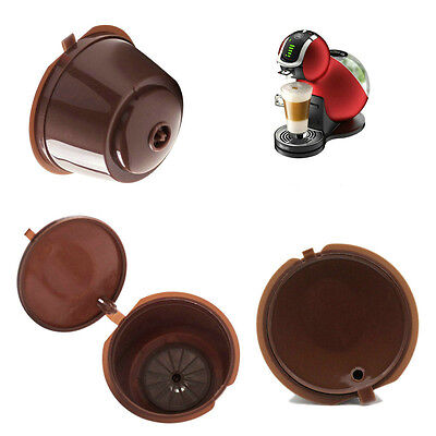 Hot Refillable Reusable Coffee Capsule For Dolce Gusto Machine Refill Cup Filter
