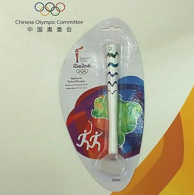 New Brazil Rio 2016 Olympic Authentic Mini OFFICIAL Torch 12cm Souvenirs