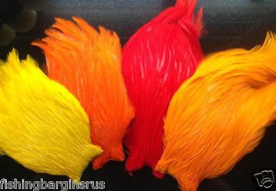 Cock Capes Neck  Fly Tying Feathers  - Trout Salmon Fly Tying