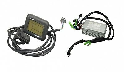 King Meter Display J-LCD mit Steuerbox Controller 36V E-Bike