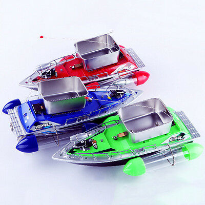 1 Set Remote Control RC Radio Bait Finder Fishing Nest Lure Boat Ship Gadget New