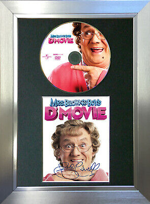 MRS BROWNS BOYS D'MOVIE Repro Signed Autograph DVD & Cover Mounted Print A4 no61
