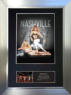 NASHVILLE Signed Autograph Mounted Reproduction Photo A4 Print no368