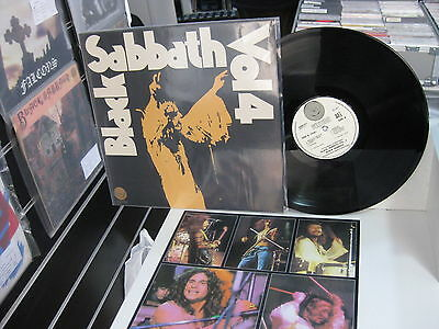 Black Sabbath Uk Lp Vol 4